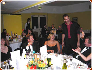 Balls and Christmas Awards Ceremonies,  Parties